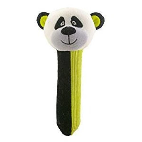 Panda Rattle and Squeaker Squeakaboo Toy