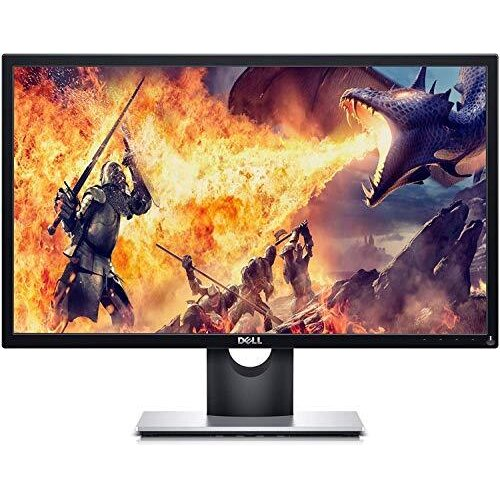 Dell SE2417HGX 23.6 Inch TN, Anti Glare, LED-backlit 2019 Gaming Monitor (Black) 1 MS Reponse Time, FHD (1920 x 1080) AT 60 Hz, Thin Bezel, 2xHDMI,