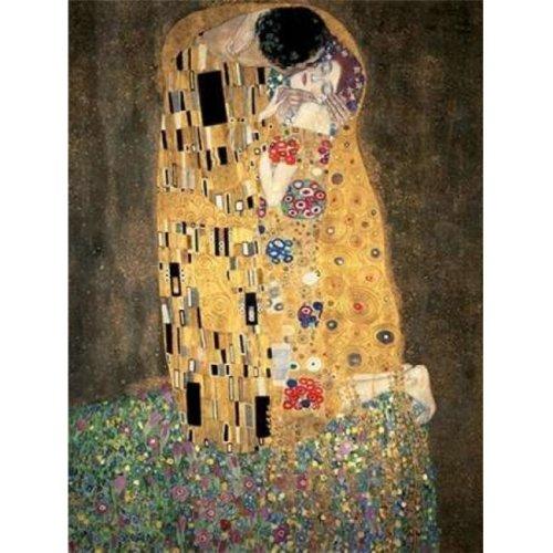 The Kiss Poster Print by Gustav Klimt, 11 x 14 - Small