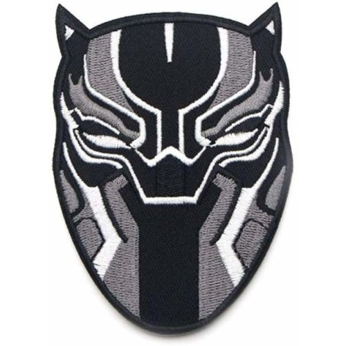 Black Panther Marvel Comics Cloth Iron On Patches