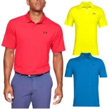 Under Armour Mens Performance 2.0 UA Stretch Golf Polo Shirt