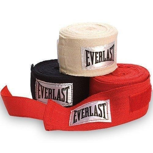 Everlast Hand Wraps, Pack of 3 Wraps, 108 Inch