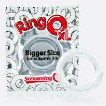 Screaming O RingO XL Clear Penis Cock Ring,