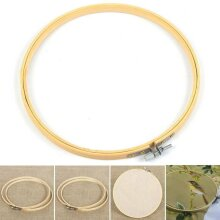 Hand Craft Wooden Embroidery Hoop and Cross Stitch Hoop Ring