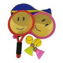 Cute Mini Badminton Tennis/Racket Toy Children Suits-Smile