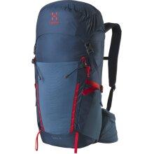 Haglofs Spira 35 Litre Medium/Large Back Rucksack - Blue Ink/Pop Red