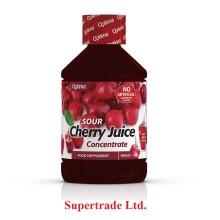 2 X Optima Sour Cherry Juice Super Concentrate Active Live - 500ml