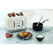 Kenwood kMix TFX750CR 4-Slice Toaster - Cream