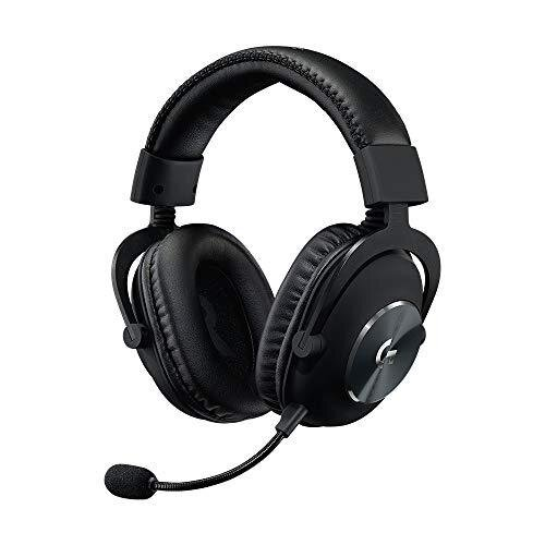 Logitech G PRO Gaming Headset 2nd Generation Comfortable and Durable with PRO-G 50 mm Audio Drivers, Aluminum, Steel and Memory Foam (for PC, PS4, S