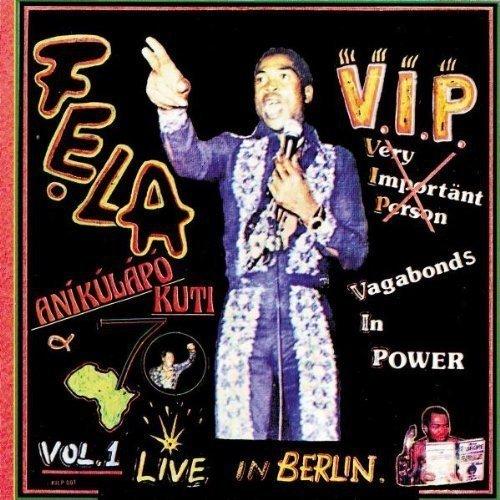 Fela Kuti - Vip/authority Stealing [CD]