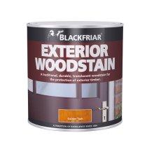 Blackfriar BKFTEWSE1L Traditional Exterior Woodstain Ebony 1 Litre