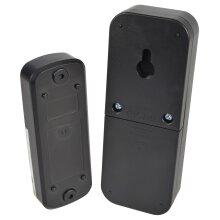 Mercury Wireless Waterproof Doorbell Black