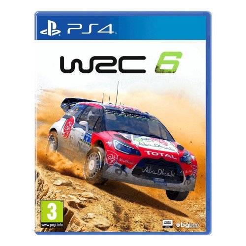 WRC 6 PS4 Game - Used
