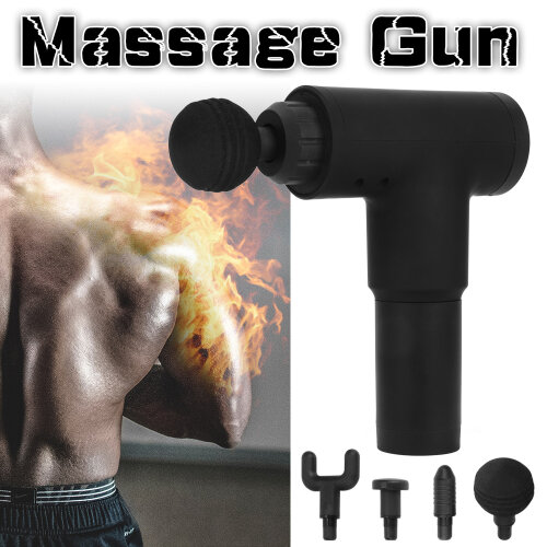 Massage Gun Muscle Deep Tissue Percussion Relax Massager Body Training