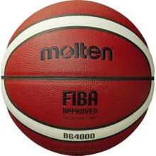 basketball BG4000 leather orange size 5