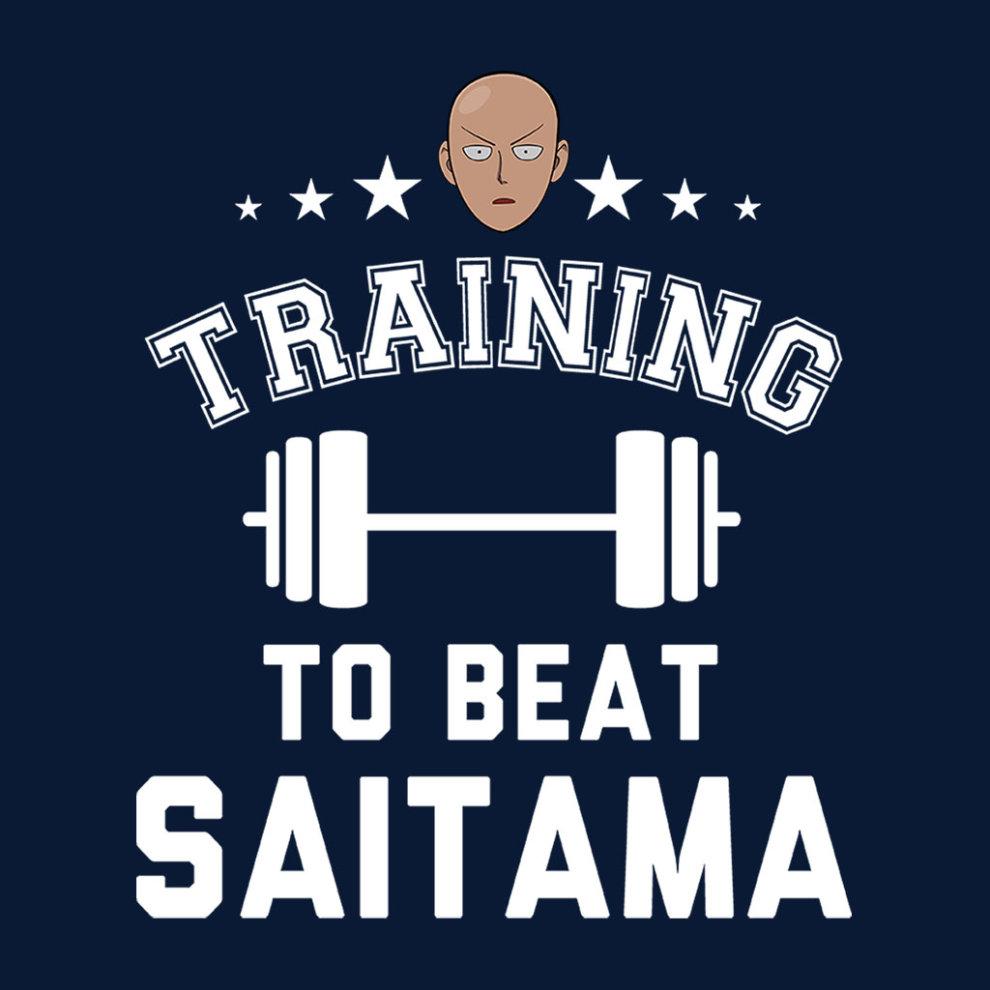 (Large) One Punch Man Training To Beat Saitama Women's ...