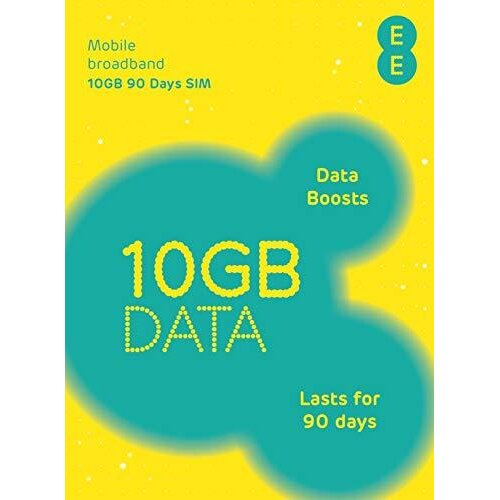 EE 300018013 PAYG 4G MBB 10 GB SIM Card