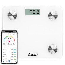 Futura Bathroom Weighing Scales With Smartphone Connectivity