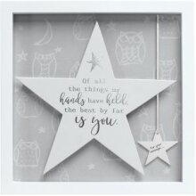 Said with Sentiment Star Wall Art - You