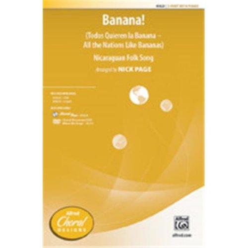 Alfred 00-45623 All Nation likes Banana