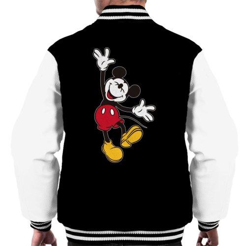 Disney Mickey Mouse Joyful Jump Men's Varsity Jacket