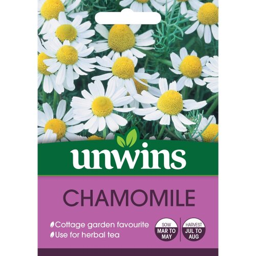 Unwins Grow Your Own Fine Pleasantly Scented Chamomile Herb Seeds