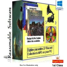 LP to PC Budget Software CD - copy vinyl LP singles to CD - software