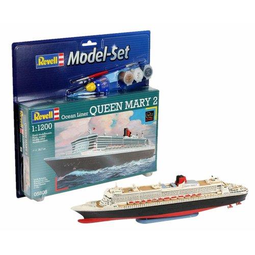 Revell 65808 Queen Mary 2 Model Set