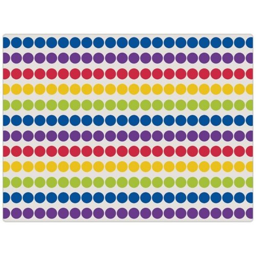 Spotted Glass Chopping Cutting Board Worktop Protector Saver