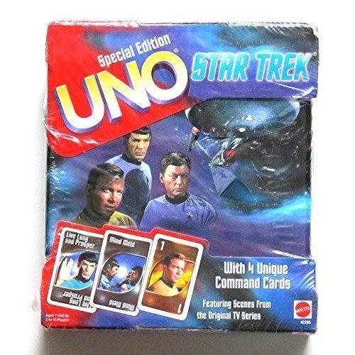 Special Edition Uno Star Trek Card Game 1999