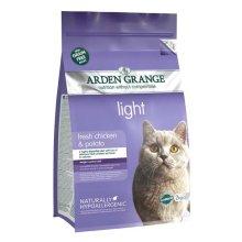 Arden Grange Grain Free Cat Light With Fresh Chicken & Potato 2kg