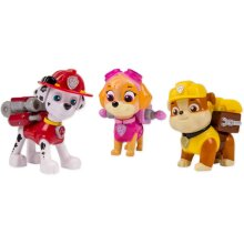 Paw Patrol Action Pack Pups Marshall/Skye/Rubble Kids Play Toy Puppy Figurine