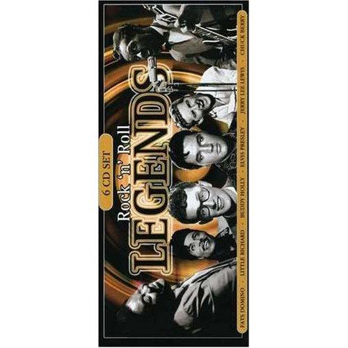 New Sealed 6 CD's Rock 'n' Roll Legends Songs Set Uk