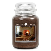 Goose Creek 24oz Large Scented 2 Wick Candle Jar Cozy Home
