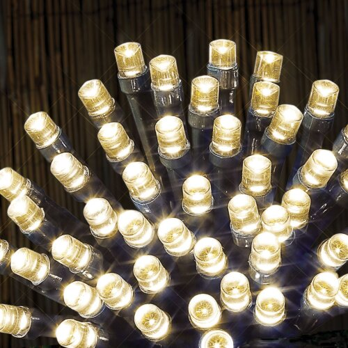 480 Christmas Fairy Lights LED Indoor/Outdoor 8 Functions With Timer - Warm White
