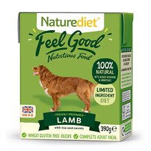 Naturediet Feel Good Lamb Complete Wet Food 390g x 18