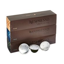 Nespresso Vertuoline Coffee Capsules Assortment - The Best Sellers: 1 Sleeve of Stormio, 1 Sleeve of Odacio and 1 Sleeve of Melozio for a Total of...