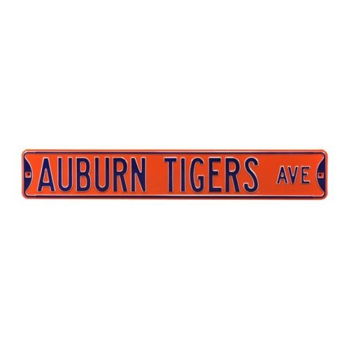 Authentic Street Signs 70057 Auburn Tigers Avenue Orange Street Sign