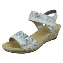 Ladies Rieker Wedge Hook & Loop Sandals 62470