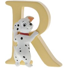 Disney Enchanting Collection Hand Painted Letter Ornament Rolly - Dalmatian - R