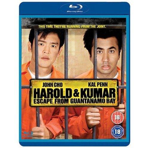 Harold & Kumar Escape From Guantanamo Bay Blu-Ray [2008]