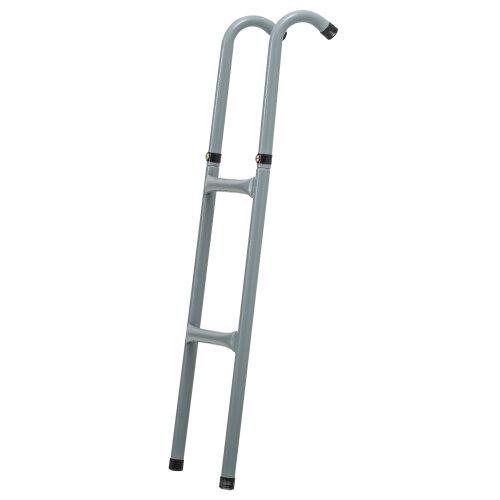 HOMCOM 8ft 10ft Trampoline Ladder Universal Stepper Metal Frame Outdoor Garden