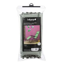 Lafuma MOBILIER Canvas Batyline with R Clip Recliner Headrest, Colour: Tilleul, LFM2841-9268