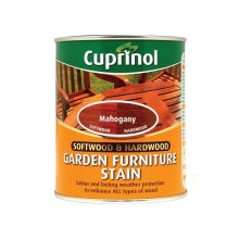Cuprinol 5158523 Softwood & Hardwood Garden Furniture Stain Mahogany 750ml