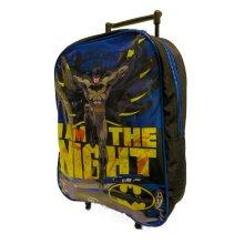 Batman Childrens/Kids I Am The Night Folding Trolley Bag
