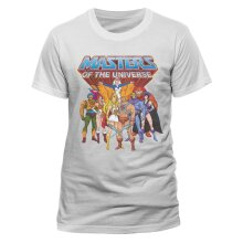 He-Man & The Masters Of The Universe 'Group' (White) T-Shirt