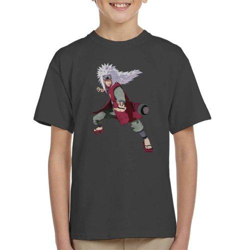 Jiraiya Pose Naruto Kid's T-Shirt
