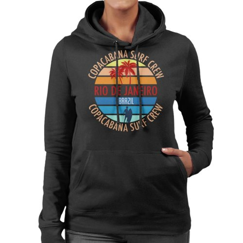 Copacabana Surf Crew Women's Hooded Sweatshirt