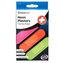 Stalwart A-00223 Neon Plasters (Pack of 75)