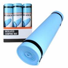 Insulated Camping Mat Foam Blue 180 x 50 x 0.6cm